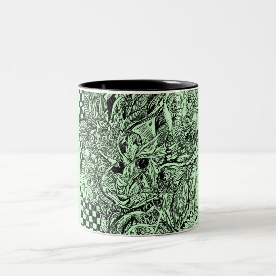 Green Man Wood Spirit Coffee Mug