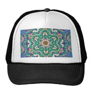 Green Mandala Cap