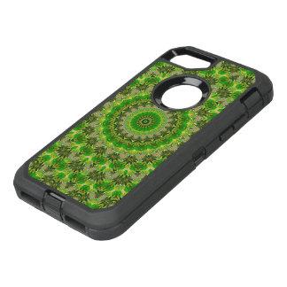 Green Mandala Wheel... OtterBox Defender iPhone 8/7 Case