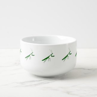 Green Mantis Soup Mug