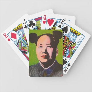Green Maose playing cards