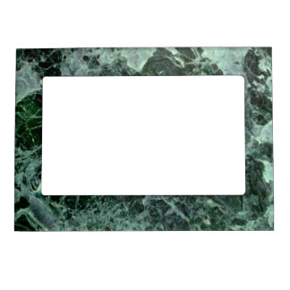 Green marble magnetic frame