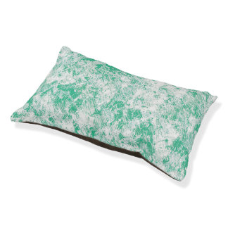 Green Marble Mesh Pet Bed