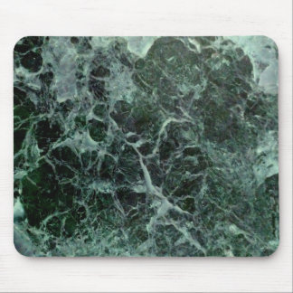 Green marble mousepad