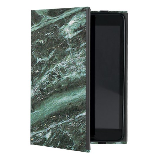 Green Marble Stone Texture Emerald iPad Case