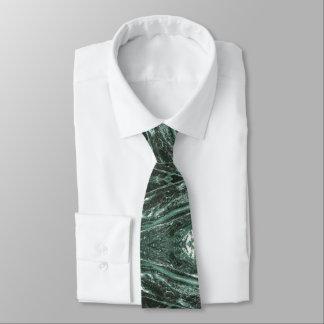 Green Marble Stone Texture Emerald  Tie