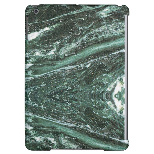 Green Marble Stone Texture Glossy iPad Air Case