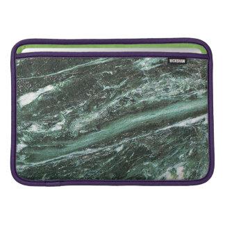 Green Marble Stone Texture Macbook Air Sleeve