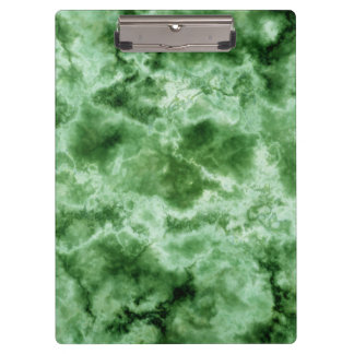 Green Marble Texture Clipboard