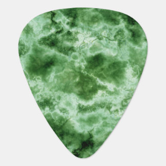 Green Marble Texture Guitar Pick