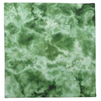 Green Marble Texture Napkin