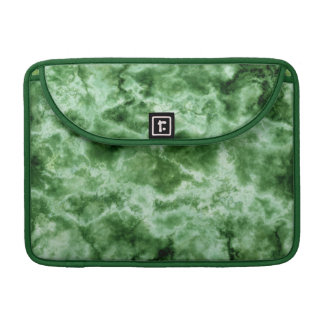Green Marble Texture Sleeve For MacBooks
