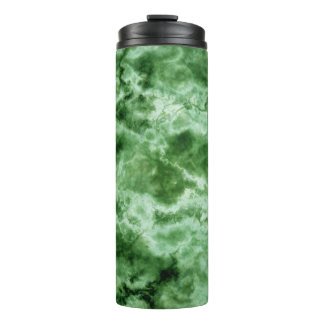 Green Marble Texture Thermal Tumbler