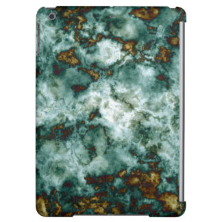Green Marble Texture With Veins Cover For iPad Air