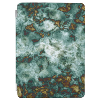 Green Marble Texture With Veins iPad Air Cover