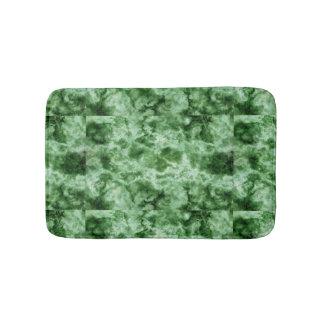 Green Marble Texture Bath Mats