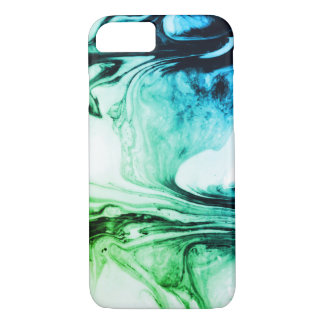 Green Marbled Pattern Mug iPhone 8/7 Case