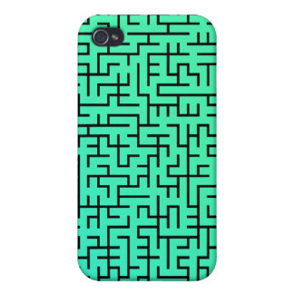Green Maze Case for iphone 4