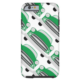 Green Mean Retro Car Boy's Birthday Tough iPhone 6 Case