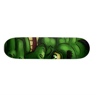 Green Mean Skate Board