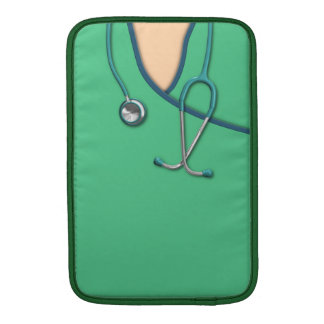 Green Medical Scrubs Sleeve For MacBook Air