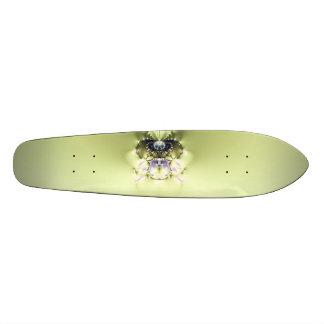 Green Meditation Skateboard Deck