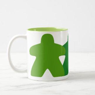 Green Meeple Mug