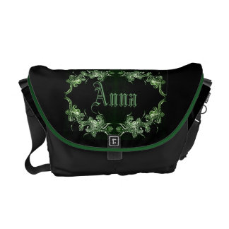 Green Mehndi Bollywood bag Commuter Bags