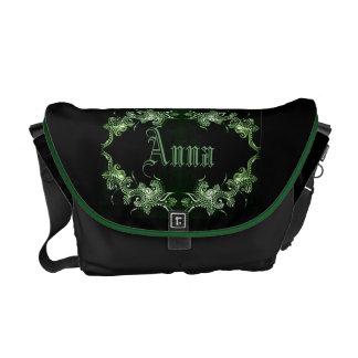 Green Mehndi Bollywood bag Commuter Bags