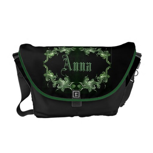 Green Mehndi Bollywood bag Courier Bag