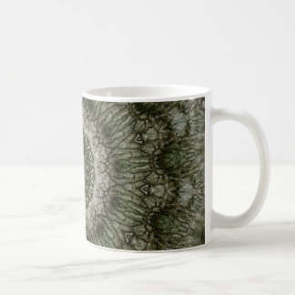 Green Men In The Bark Coffee Mug