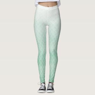 Green Mermaid Scaly Legs Leggings