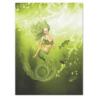 Green Mermaid Tissue Paper
