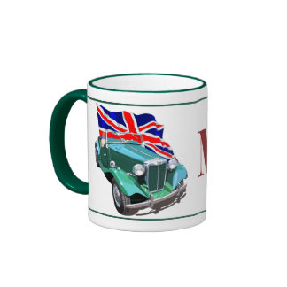 Green MG-TD Ringer Mug