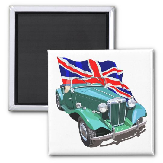 Green MG-TD Square Magnet