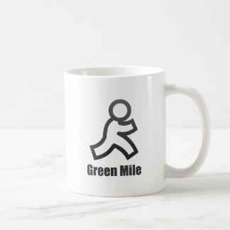 Green Mile Basic White Mug
