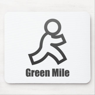Green Mile Mouse Pad
