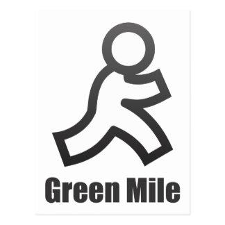 Green Mile Postcard