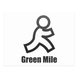 Green Mile Post Card