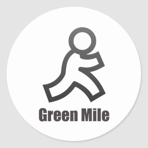 Green Mile Stickers