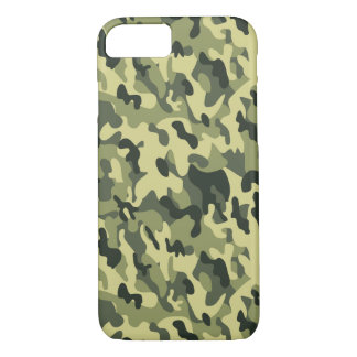 Green Military Camouflage iPhone 8/7 Case