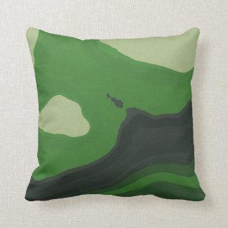 Green Mind 4 Throw Pillow