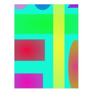 Green Minimalism Post Card