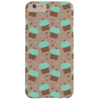 Green Mint Cupcake Barely There iPhone 6 Plus Case