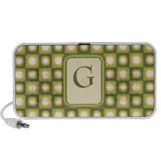 Green Mod Polkadots Mp3 Speaker