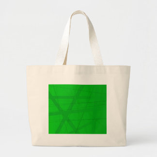 Green Modern Background Large Tote Bag