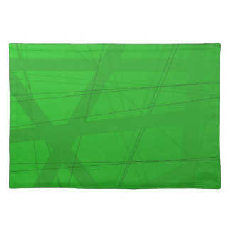 Green Modern Background Placemat