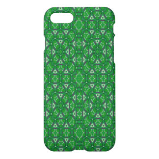 green modern multicolored pattern iPhone 8/7 case