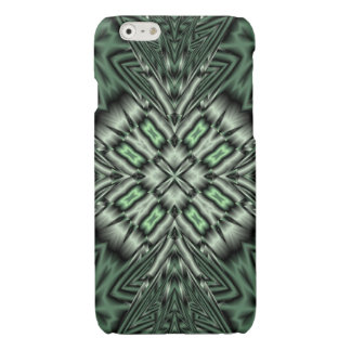 Green modern pattern iPhone 6 plus case