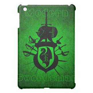 Green Modern Swordsman Dragon Crest  Case For The iPad Mini